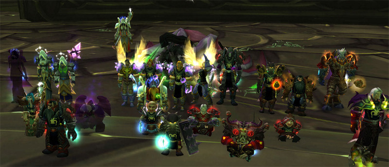 Our first Illidan Kill, late 2007